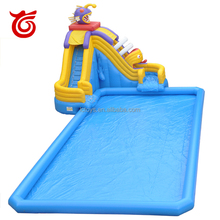 Wholesale giant inflatable used swimming pool slides for water park