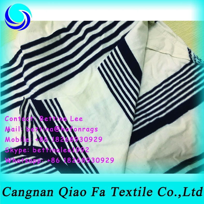 Marine Use Cleaning Cloth Rags Second Hand Products T Shirt Cotton ...
