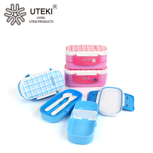 Christmas promotional lunch box plastic food container