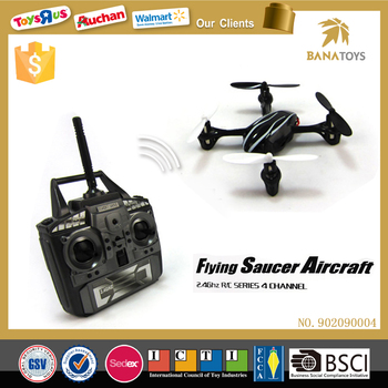 2017 Best mini 2.4g 4-axis ufo aircraft quadcopter