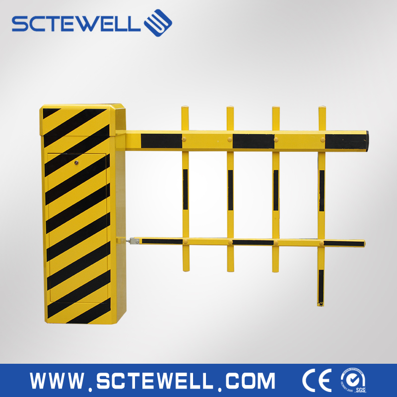 Intelligent Fence Gate Vehicle Barrier Gate With RFID Card Reader