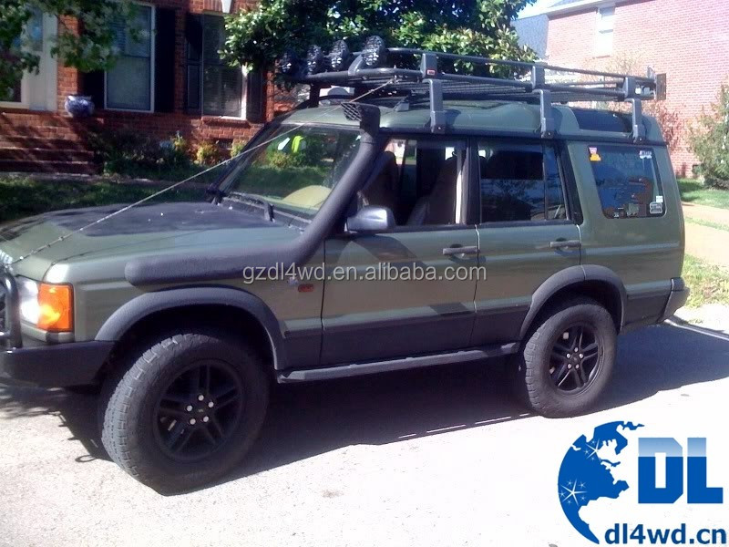 Auto body kit discovery 2 4x4 car snorkel for land rover discovery 2