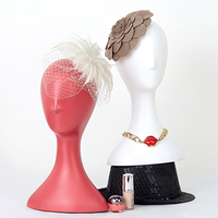 Fashion Female Mannequin Head Wig Display Plastic Egg Head Dummy