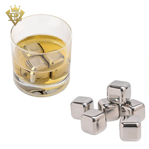 Reusable Chilling Cubes for Wine without the Water Down