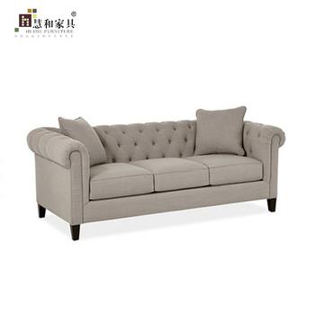 Custom American Classic Fabric Sofa, American Cloth Sofa