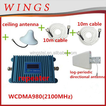 95ee54f987aae3 2100Mhz -3G Mobile Network Signal Booster/Repeater wings electronic 3g signal  booster 3G/