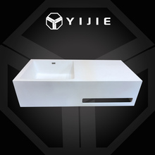 Modern bathroom decal pedestal basin color round pedestal basin