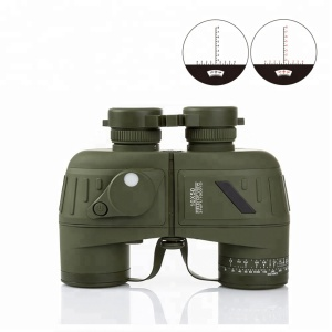 10x50 High HD Adult Navigation Compass Range Reticle Military Russian Night Vision Binoculars