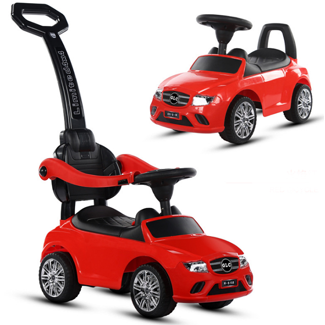 Cheap Price Kids Swing Car Kids 4 in 1 Ride On Push Car with Handle