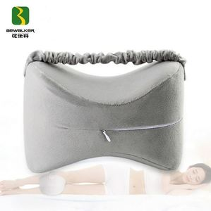 Popular Memory Foam Filling Knee Pillow For Rest In Bed