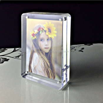 Clear Acrylic Magnetic Funia Photo Frames Picture Frame Buy