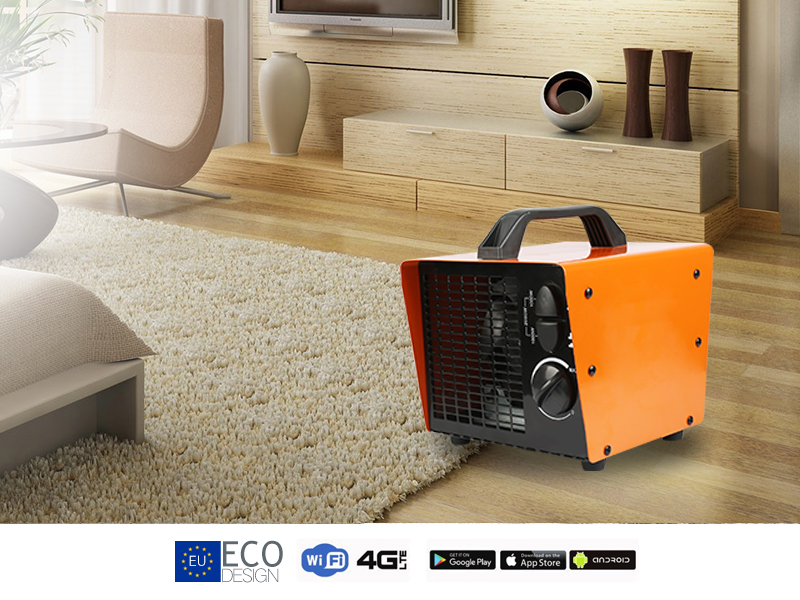 Safety space room heater mini PTC heater 220 volt electric heater