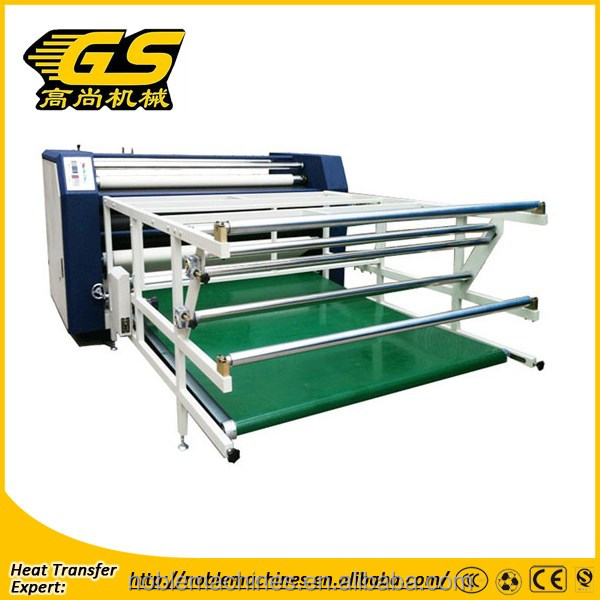 GaoShang High stability multifuntion rotary hear press sublimation roll heat transfer machine