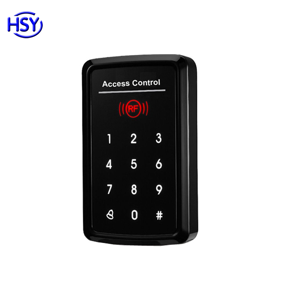 Single door RF cards Touch keypad access control system with low cost