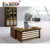 Ekintop round edge MDF paper 1.6m office desk boss table wooden office table