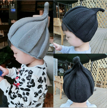 2016 Kids Cotton Onion Knitting Wool Beanies Hats Baby Girl Warm Cap Children Winter Hat Baby