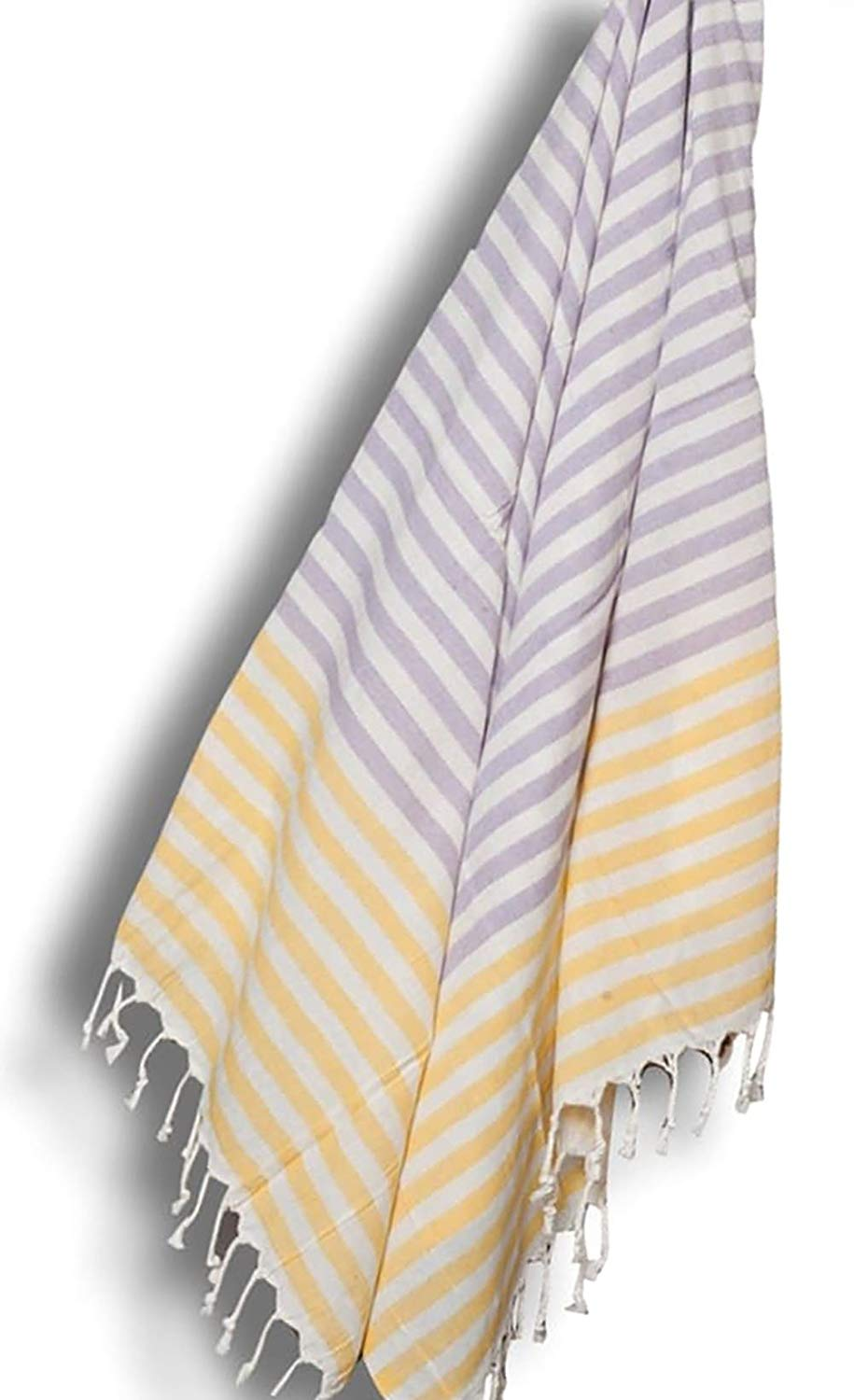 "Custom & Luxurious {30"" x 60"" Inch} 1 Single Large & Thin Soft Summer Beach & Bath Towels Made of Quick-Dry Cotton w/ Tropical Lilac Dandelion Turkish Lounging Vacation Souvenir Style [Multicolor]"