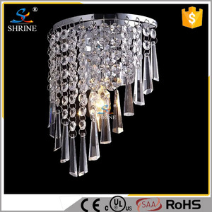 Modern Exquisite Design Crystal Wall Lamp