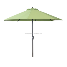 Hot sale wholesale 9ft Patio Garden Umbrella Outdoor Parasol with Hand Crank