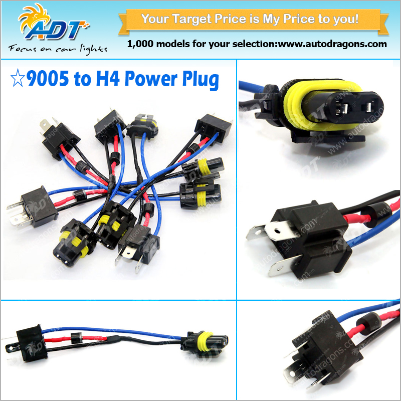 Anti Flicker Error Hid Led Resistor Kit H4 To 9005 Relay Harness Adapter on h4 led wiring, 12vdc relay wiring, h4 bulb wiring, h4 wiring with diode, h4 wiring lamp, h4 wiring adapters,