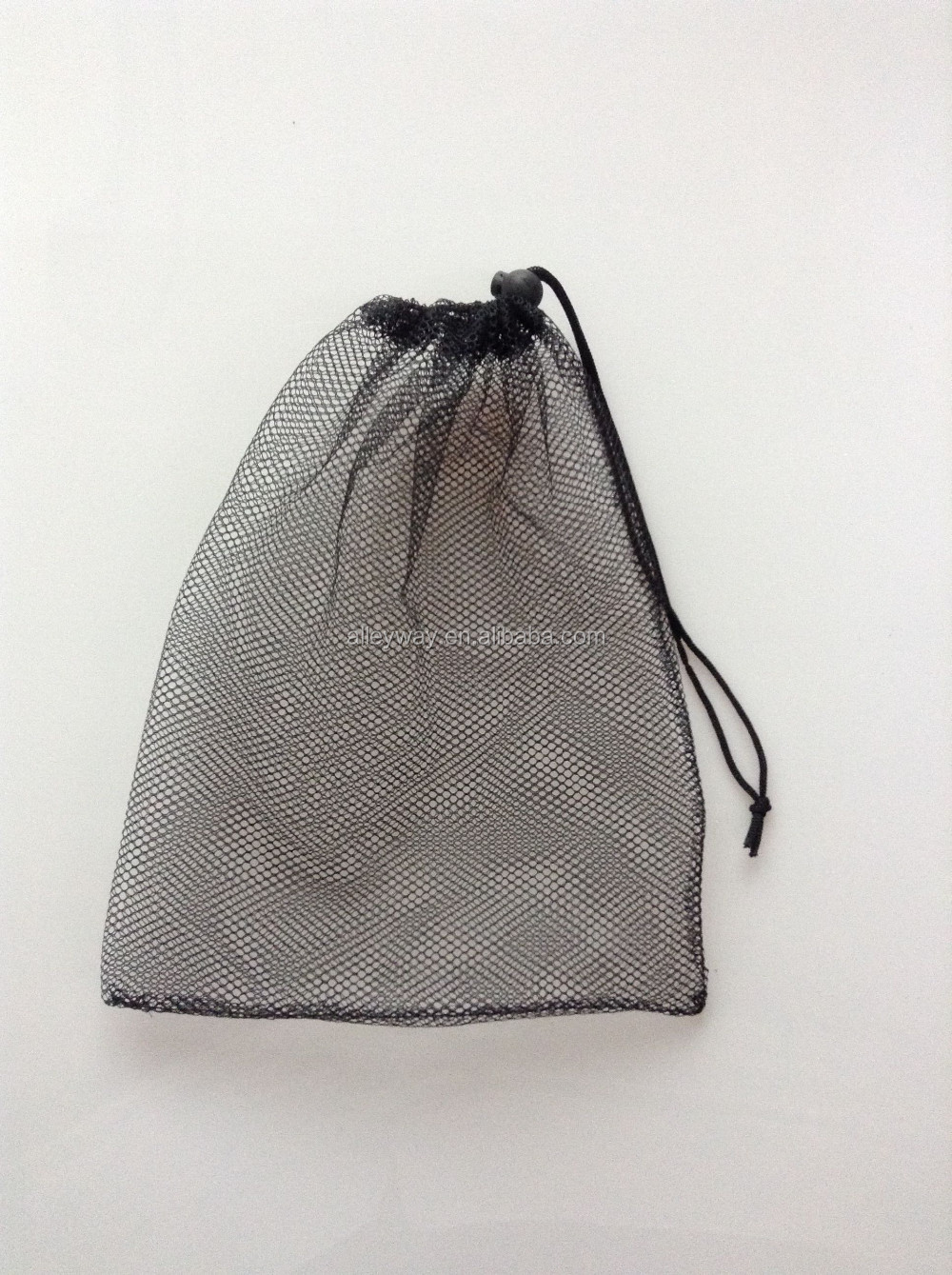Nylon net drawstring bag 25cm x 30cm
