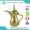Hot sale stainless steel dallah for coffee and tea with LFGB(OSUL)