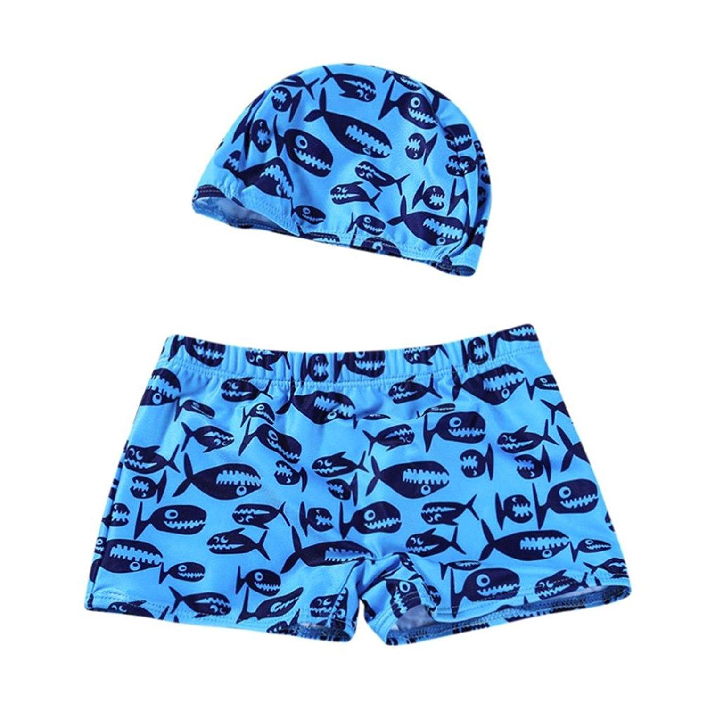 Kids Baby Boys Stripe Beach Stretch Bathsuit Swimwear Shorts Pool Pant 2-8T Moonker Hot Sale Swim Trunks