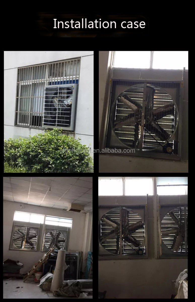 Automatic Shutter and Stainless Steel Heavy Wall Mounted Exhaust Fan to  Sale, View wall mounted exhaust fan, FL Product Details from Shanghai  Fengluan