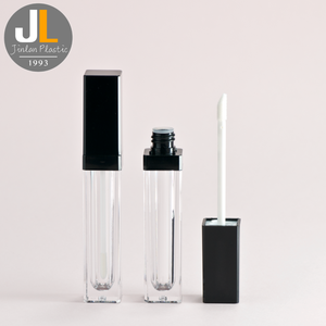 2018 New Product Clear Cylinder Empty Lip Gloss Tube Make Your Own Lip Gloss