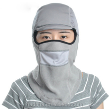 Outdoor Sports Ski Cycling Weatherization Windproof Fleece Mask With Face Shield/Warm Ski mask