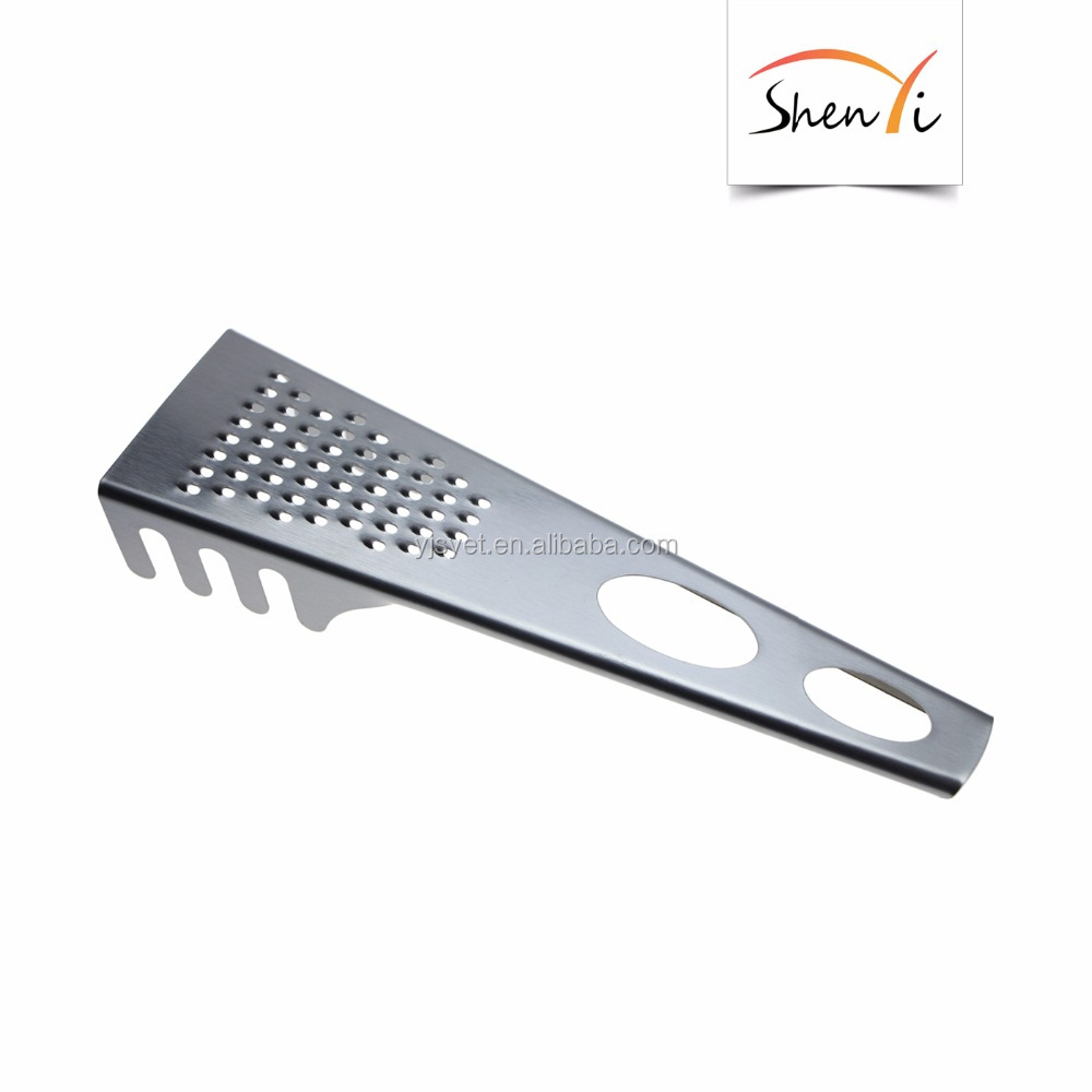 2 In 1 Stainless Steel Kitchen Grater And Pasta Fork Noodles Spoon   Buy  Stainless Steel Grater,Fish Scale Scraper,Fish Scales Plane Product On ...