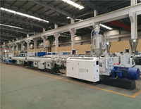 Plastic HDPE/PP/PPR pipe making machine /production line for water pipe