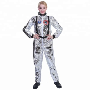 Halloween party role play fancy dress set adult woman female cosmonaut astronaut costume for women