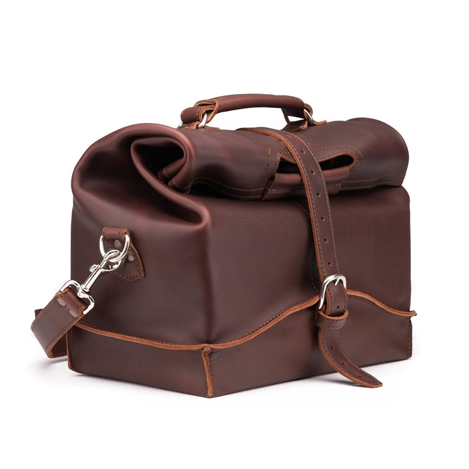 862a285333 Get Quotations · Saddleback Leather Overnight Bag - Full Grain Leather  Carry On - 100 Year Warranty