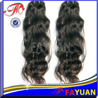 unprocessed full cuticle 100% virgin ponytail hair extension