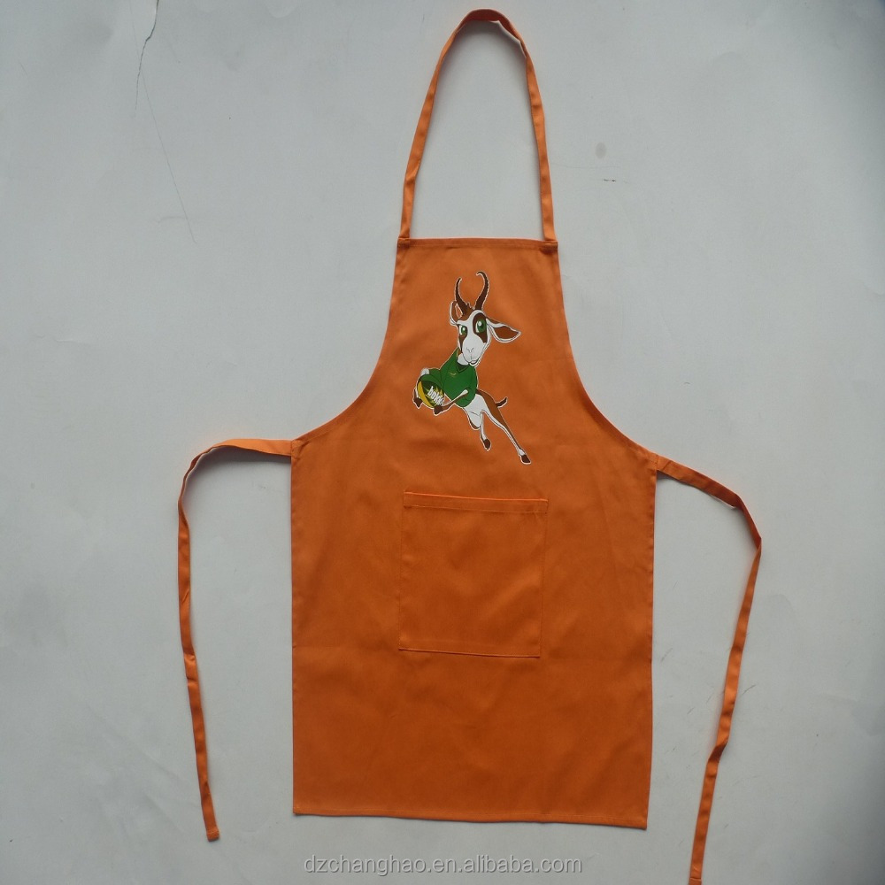 2018 New design aprons for children and bbq apron
