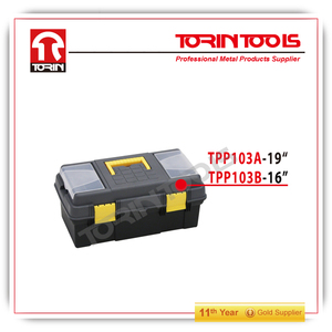 Supply plastic toolbox/portable toolkit/tool ark TPP103A-19'