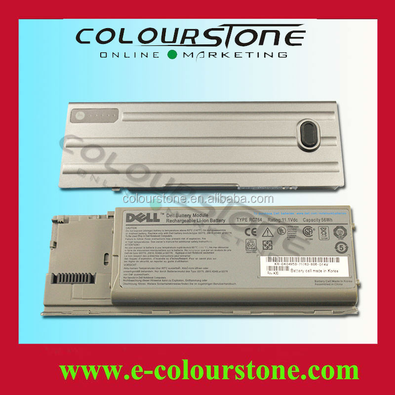 6 cells Grey color laptop battery for Dell RC764 11.1v 56Wh
