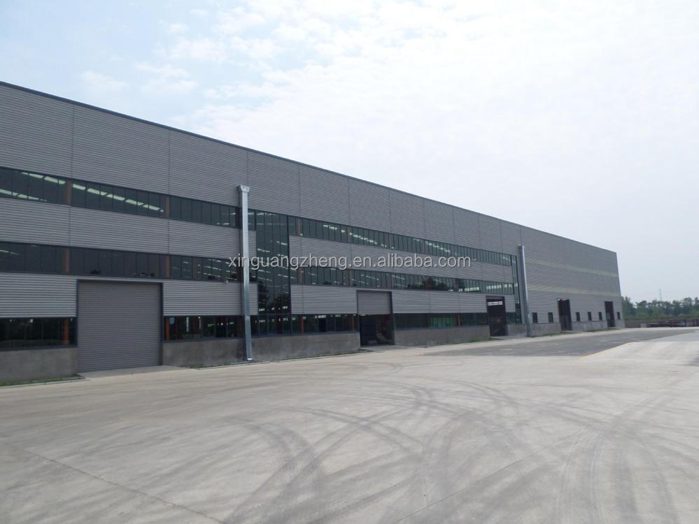 ISO Low Cost Prefab Steel Structure Warehouse Drawings