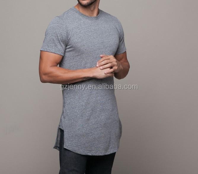 2016 Fashion Extended Shirt for Men Hip Hop T Shirt Mens Tees Elongated T  Shirts e412df664e9
