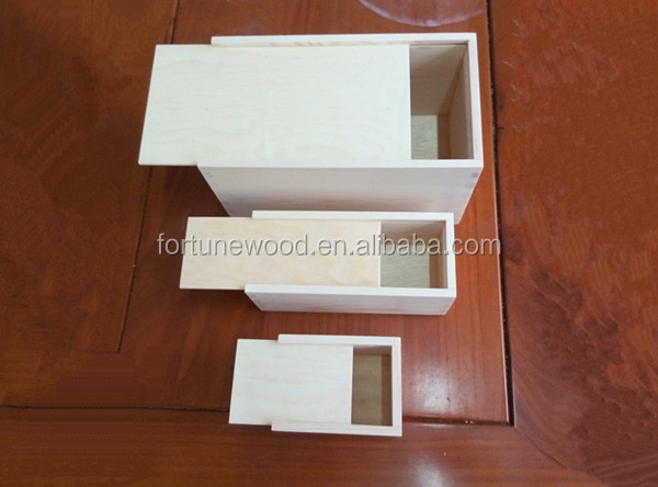 Pine Plywood Wooden Gift Box With Sliding Lid Suppliers And Manufacturers At Alibaba