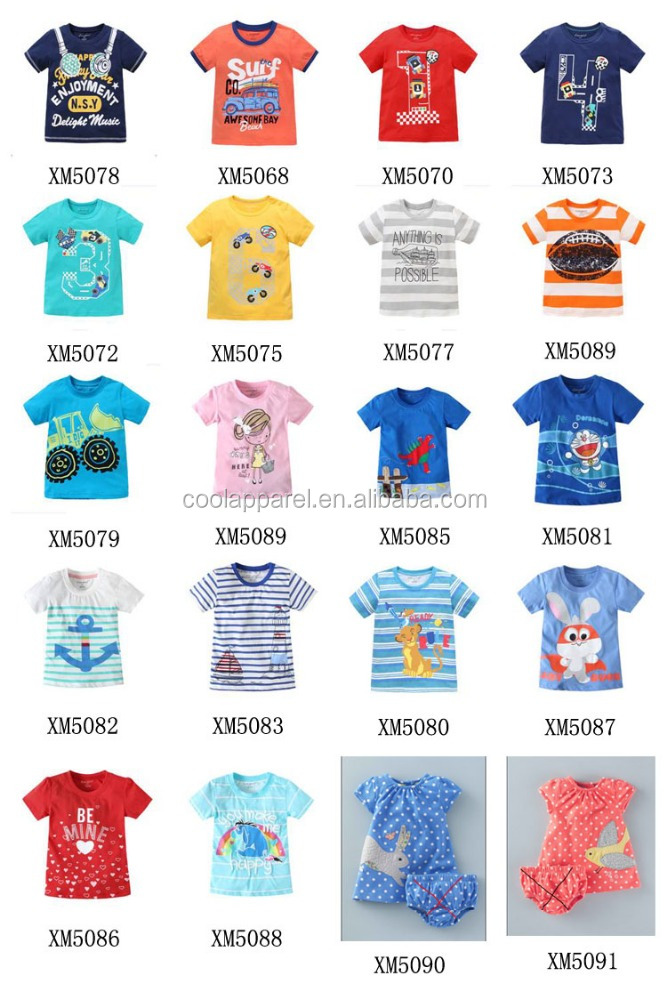 kids knitted clothes manufature in China,children breathable cotton baby t-shirt
