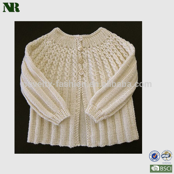 Baby Long Sleeve Cable Crochet Cardigan Sweater Buy Girls Crochet