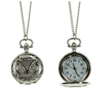 2012 Latest Long Chain Pocket Owl Watch Necklace Buy