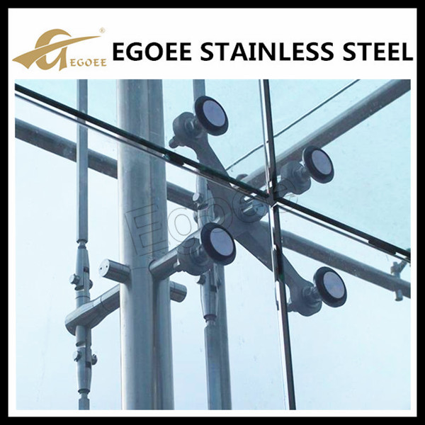 Egoee Curtain Wall Spider Glass System Spider Joint
