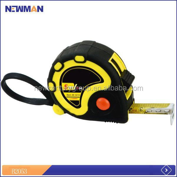for russia blue rubber covered mini tape measure with note pad