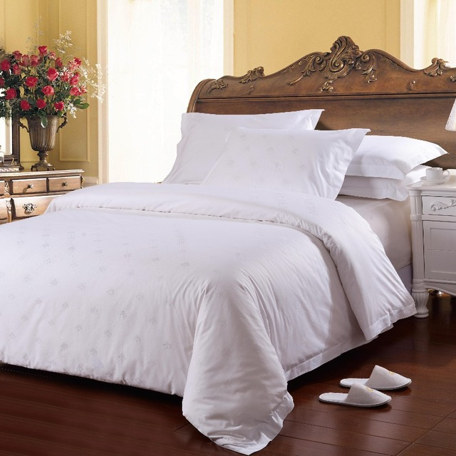 Hot Sale 100% Cotton Hotel Used Bed Linen Made In China