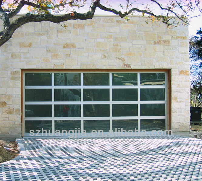 Industrial High Quality Tempered Glass Garage Door Kit