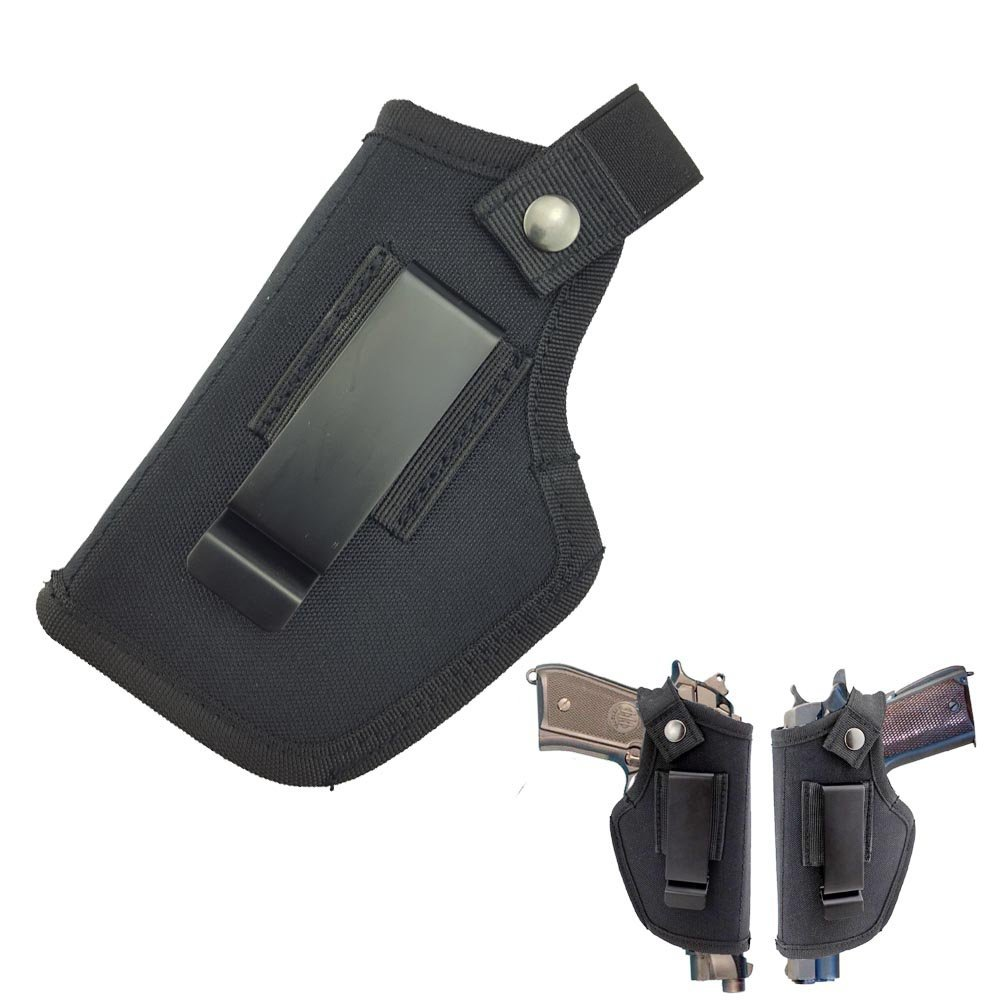 SkyCity IWB Holster Gun Concealed Carry Holster | IWB or OWB Holster | Fits S&W M&P Shield/GLOCK 26 27 29 30 33 42 43, Right Left Hand Draw,Black