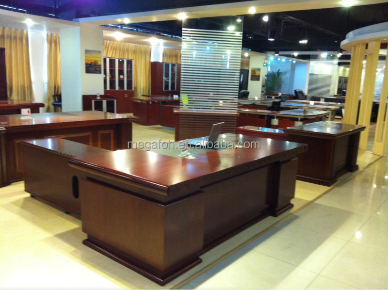 Durable Antique Office Executive Director Desk For Kuwait